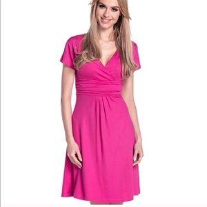 ✨🌹HP🌹✨ Women's Knee Length Short Sleeve Dress